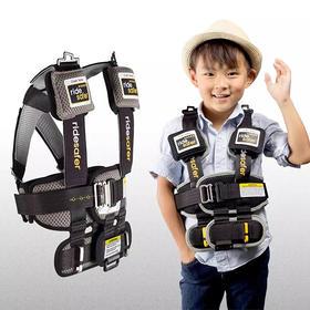 「美国儿科学会推荐」美国进口 RideSafer 穿戴式儿童安全座椅!3~12岁适用!仅3个苹果重,便携、免安装!旅行、出租、搭车,都可以用!