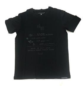 2017 100%纯粹黑T恤
