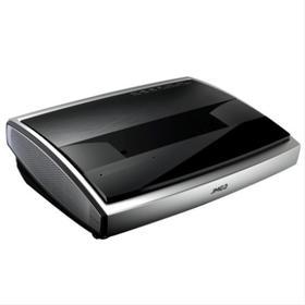 坚果4K激光电视U1家用无线wifi全高清超短焦智能微型投影仪3D家庭影院无屏电视贴墙可投100-300英寸巨幕大屏