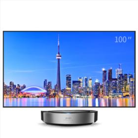 坚果 HPS5 100英寸16:9 抗光幕布 激光电视投影仪