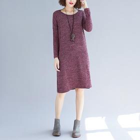 中长款羊绒打底衫宽松秋冬季毛衣 YX-130