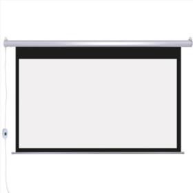 坚果16:9投影仪100英寸 投影机家用3D高清电动幕布