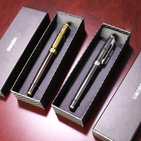 得力S86宝珠笔金属质感中性笔 0.5签字笔水笔礼品笔配S763笔芯-812272