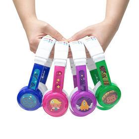 【外出必带】buddyPHONES InFlight儿童安全防过敏头戴耳机可通话学习耳机可折