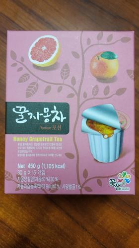 蜂蜜葡萄柚茶(盒装)