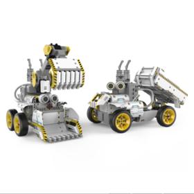 优必选(UBTECH)智能机器人stem教育编程早教益智儿童积木遥控拼装玩具礼物变形工程车 卡卡卡力