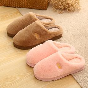 棉拖鞋女冬季居家包跟加厚保暖防滑家居男士棉拖鞋