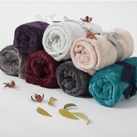 莱弗莉 法兰绒小毛毯