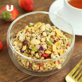 半岛优品 | 奇亚籽混合谷物燕麦片  富含14种谷物果干  无需热水冲泡  即食燕麦  280g/盒(14包)