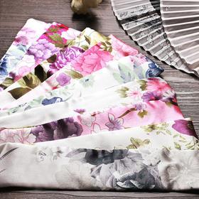 中国风古风女扇子扇袋扇套 折扇锦缎复古典手工艺 礼品精美包装袋