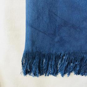 手作围巾:植物染色,大豆纤维&竹纤维而做,拿到便爱不释手。
