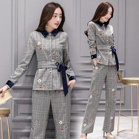 唯美韩版潮流修身显瘦气质街头百搭套装 CS-FY1811