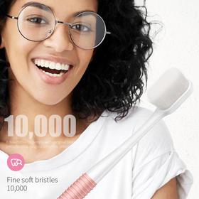 牙齿专用护理牙刷 万毛月子牙刷 10000根刷毛 超柔软不伤牙2只装
