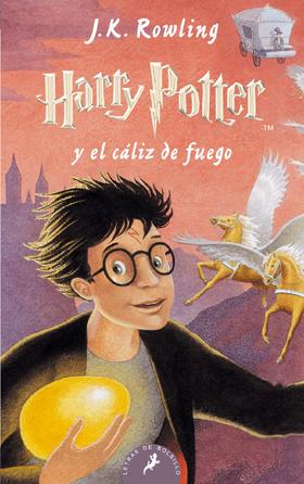 Harry Potter y el cáliz de fuego (Tapa Blanda)