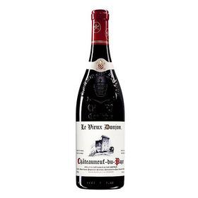 【闪购】老教堂教皇新堡干红葡萄酒2015/Domaine Le Vieux Donjon Chateauneuf du Pape 2015