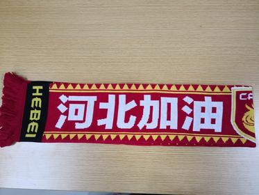 2016年围巾(河北加油字样)