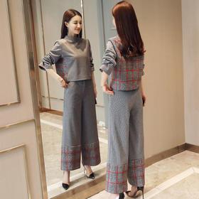 清新韩版潮流简约修身显瘦气质套装 CS-GRS2801