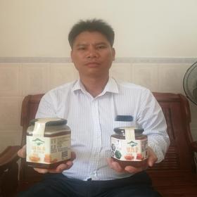 【爱心扶贫】白沙符永进养殖专业合作社的道友麦野生蜂蜜