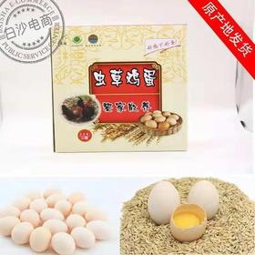 【爱心扶贫】白沙富涵家禽专业合作社的虫草鸡蛋