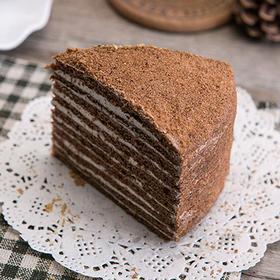 【半岛商城】俄罗斯进口版提拉米苏 原味&可可味多层蛋糕每个500g每个两种口味