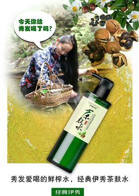 经典伊秀-茶麸洗发液