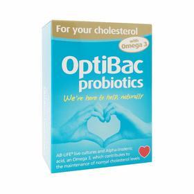【保税仓发货】英国OptiBac 辅助调节胆固醇60粒
