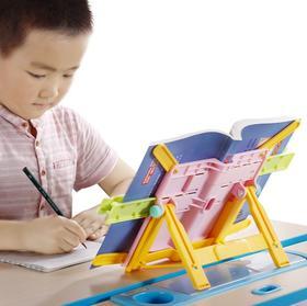儿童折叠读书架阅读架,学习神器,固定课本,让读书写作业更轻松,端正坐姿,保护视力,大书小书都能用