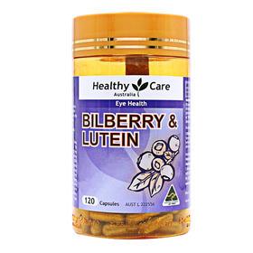 【保税仓发货】澳大利亚Healthy Care 蓝莓护眼胶囊 120粒 保护眼睛缓解干涩1瓶-10瓶