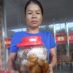 【爱心扶贫】万宁贫困户黄家文古法腌制的咸柠檬