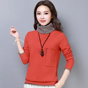 针织衫套头长袖时尚优雅街头甜美潮流个性简约 CQ-HY1800
