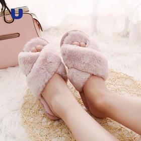 半岛优品 | 出口品质的时尚毛绒拖鞋  四种款式可选 好看到忍不住穿出街的时髦拖鞋