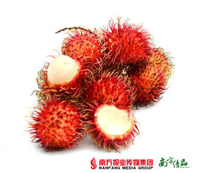 【清新鲜嫩】越南红毛丹 2斤