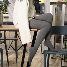 【双11大促!预售2天后发货  美丽不冻人!瘦腿+美臀+保暖三效合一】日本Zoe Jenko压力速瘦蜜桃臀袜 连裤袜 分压瘦腿 收腹提臀 德国进口发热绒 银离子抑菌 均码80-150斤都可穿