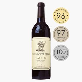 【盲品第一】跨境预售   鹿跃酒窖23号桶2014年份 Stag's Leap Cask 23!美国最伟大的酒款