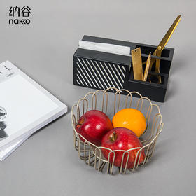 纳谷 | Domian 多功能纸巾盒+小篱笆水果篮 套装