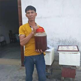 【爱心扶贫】屯昌贫困户王广儒的蜂蜜