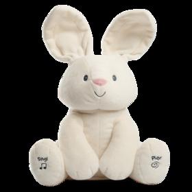 美国GUND 害羞小兔子 躲猫猫儿童安抚玩具
