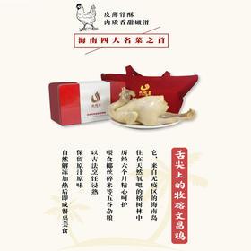 【爱心扶贫】海南牧榕农业开发有限公司的牧榕文昌鸡