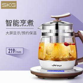 SKG8088S滤网养生壶 | 1200W大火力,23大功能,液晶大屏
