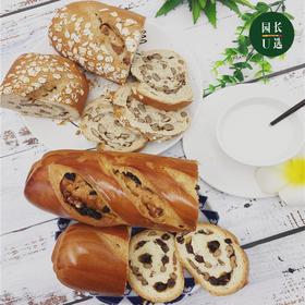 新疆坚果列巴365g+黑麦杂粮列巴365g