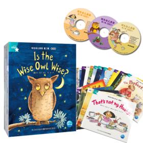 海豚传媒 培生幼儿英语第二辑提高级全套24册3张CD 儿童英语绘本分级读物 小学生英语学习课外书 畅销少儿英语教材 自主阅读故事书正版包邮