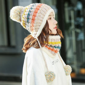 【清仓特价 不退不换】FYT5560保暖加厚加绒针织帽TZF