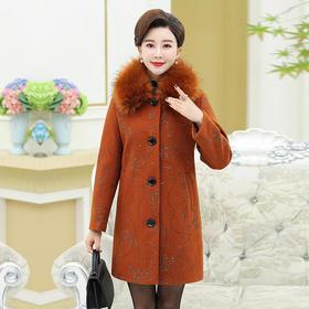 XKNH13085FB休闲保暖毛呢大衣
