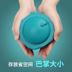 【便携式充气U型枕,仅有巴掌大小】 15秒快速充气,柔软舒适,安神助眠,拯救你酸痛的颈椎!