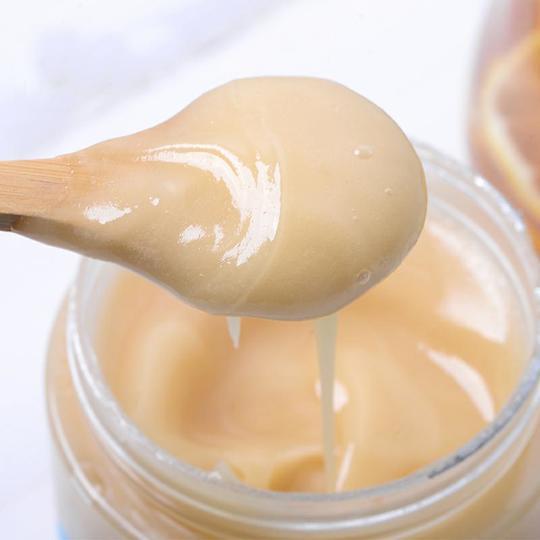 【预售到12月15日发货】精选   长白山天然椴树蜜雪蜜蜂蜜 凝如羊脂   500g 商品图0
