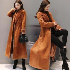 CQ71103ZMFS时尚修身纯色气质优雅毛呢外套