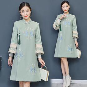 GN3308JL中国风复古旗袍