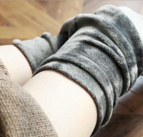 不掉裆!超舒服冬季打底袜,高腰条纹平板多色加厚貂绒单层一体打底裤