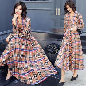 AN8862YJLY优雅时尚优美连衣裙
