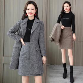 长袖时尚潮流休闲舒适纯色套装 CQ-LDBA615